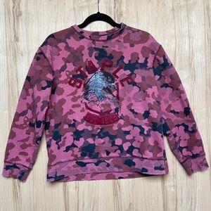Staple Pigeon camo sweatshirt size medium
